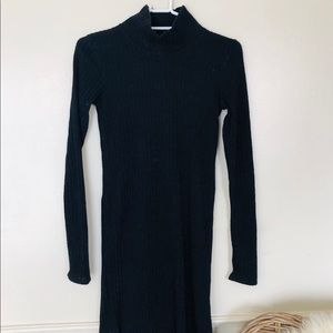 Wilfred Black Sweater Dress